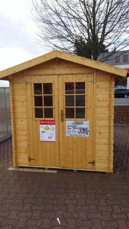 Baumarkt Gartenhütte